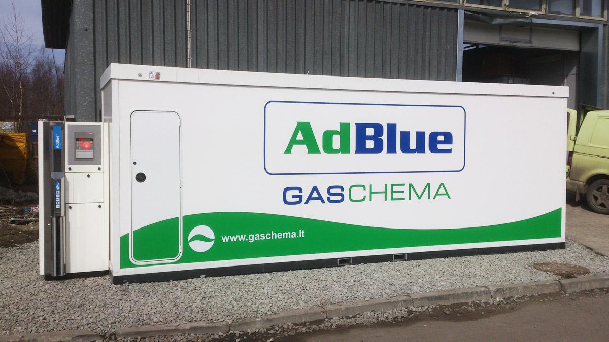 Adblue Station For Commertial Use Premium Kaubandus O 220